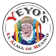 This is the restaurant logo for Yeyo's El Alma de Mexico