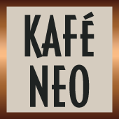 This is the restaurant logo for Kafé Neo