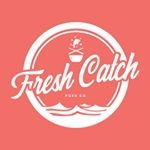 This is the restaurant logo for Fresh Catch Poke Co.