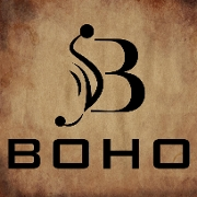 This is the restaurant logo for Boho