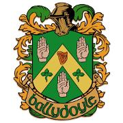 This is the restaurant logo for Ballydoyle Irish Pub & Restaurant