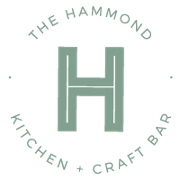 This is the restaurant logo for The Hammond Neighborhood Kitchen