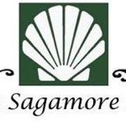 This is the restaurant logo for Sagamore Inn