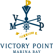 This is the restaurant logo for Victory Point