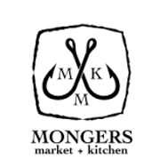 This is the restaurant logo for Mongers Market + Kitchen