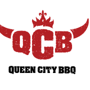 This is the restaurant logo for Queen City BBQ