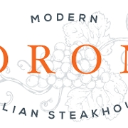 This is the restaurant logo for Dorona
