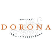 This is the restaurant logo for Dorona Italian Steakhouse