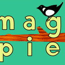 This is the restaurant logo for Magpie