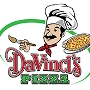 Restaurant logo for DaVinci's Pizza