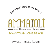 This is the restaurant logo for AMMATOLI