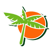 This is the restaurant logo for Tropical Juice Bar