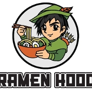 This is the restaurant logo for Ramen Hood