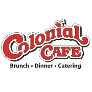 This is the restaurant logo for Colonial Cafe