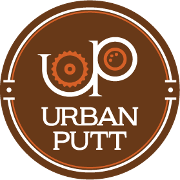 This is the restaurant logo for Urban Putt