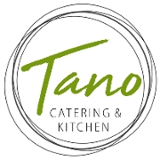 This is the restaurant logo for Tano Catering & Kitchen