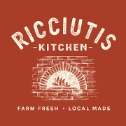 This is the restaurant logo for Ricciutis Kitchen