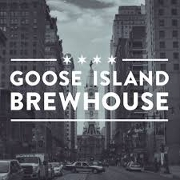 This is the restaurant logo for Goose Island