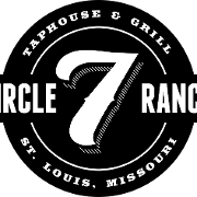 This is the restaurant logo for Circle 7 Ranch