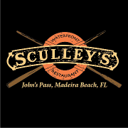 This is the restaurant logo for Sculley's Waterfront Grille