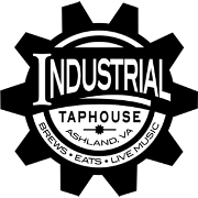 This is the restaurant logo for Industrial Taphouse