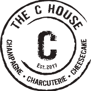 This is the restaurant logo for The C House