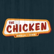This is the restaurant logo for The Chicken