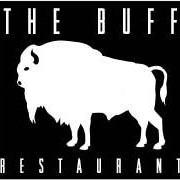 This is the restaurant logo for The Buff Restaurant