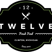 This is the restaurant logo for Clinton Twelve Restaurant