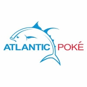 This is the restaurant logo for Atlantic Poké