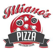 This is the restaurant logo for Illianos's Pizzeria