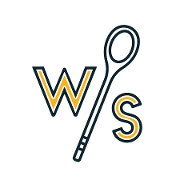 This is the restaurant logo for Wooden Spoon