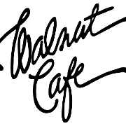 This is the restaurant logo for Walnut Cafe