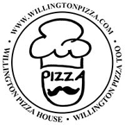 This is the restaurant logo for Willington Pizza House