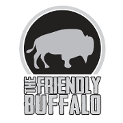 This is the restaurant logo for Friendly Buffalo