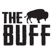 This is the restaurant logo for The Buff