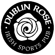 This is the restaurant logo for Dublin Rose