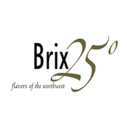 This is the restaurant logo for Brix 25°