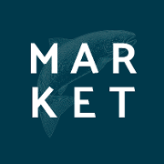 This is the restaurant logo for THE MAR·KET