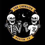 This is the restaurant logo for The Cavalier