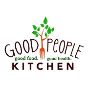 This is the restaurant logo for Good People Kitchen