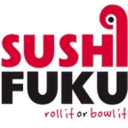This is the restaurant logo for Sushi Fuku Oakland Ave