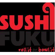This is the restaurant logo for SUSHI FUKU - OAKLAND AVE (NEAR PITT)