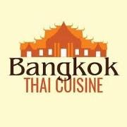 This is the restaurant logo for Bangkok Thai Cuisine