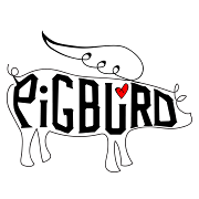 This is the restaurant logo for PigBurd