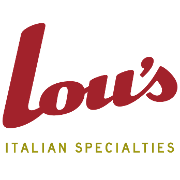 This is the restaurant logo for Lou's Italian Specialties