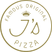 This is the restaurant logo for Famous Original J's Pizza