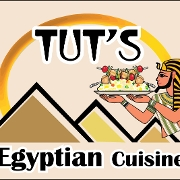 This is the restaurant logo for Tuts Grill