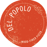 This is the restaurant logo for Del Popolo