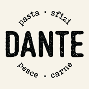 This is the restaurant logo for Dante